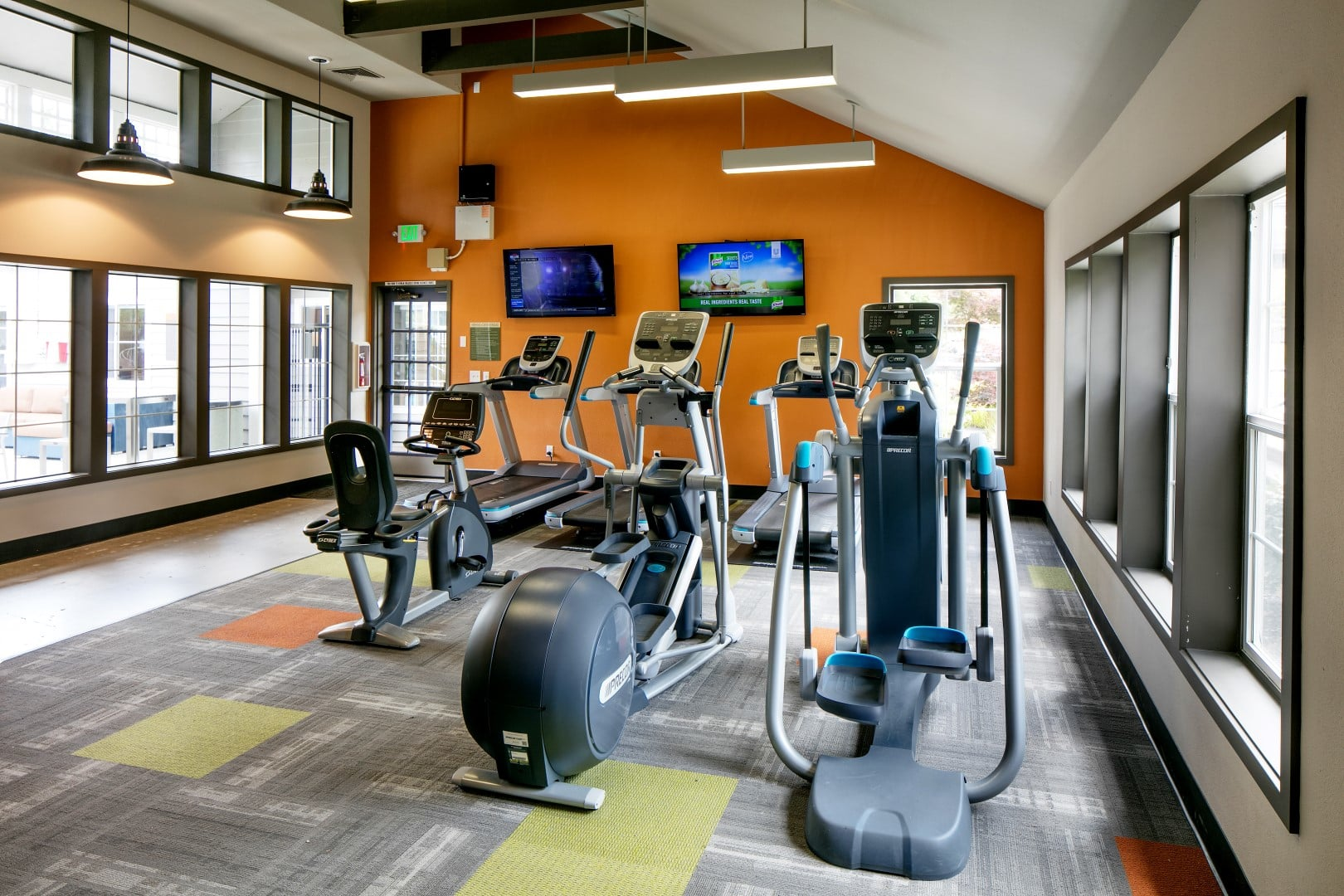 Expansive Fitness Center with Cardio Room & Free Weights