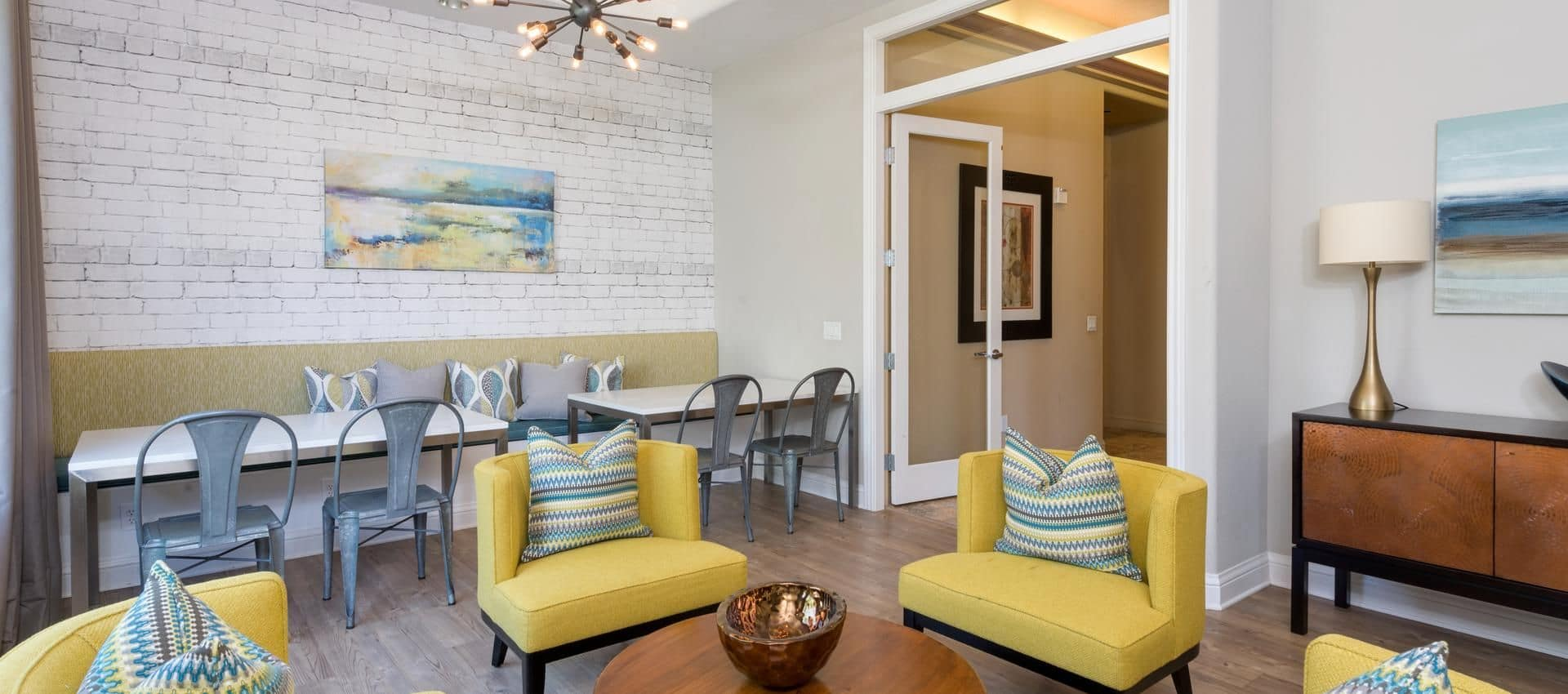 The Artisan Apartment Homes's Clubhouse Common Area in Sacramento, CA