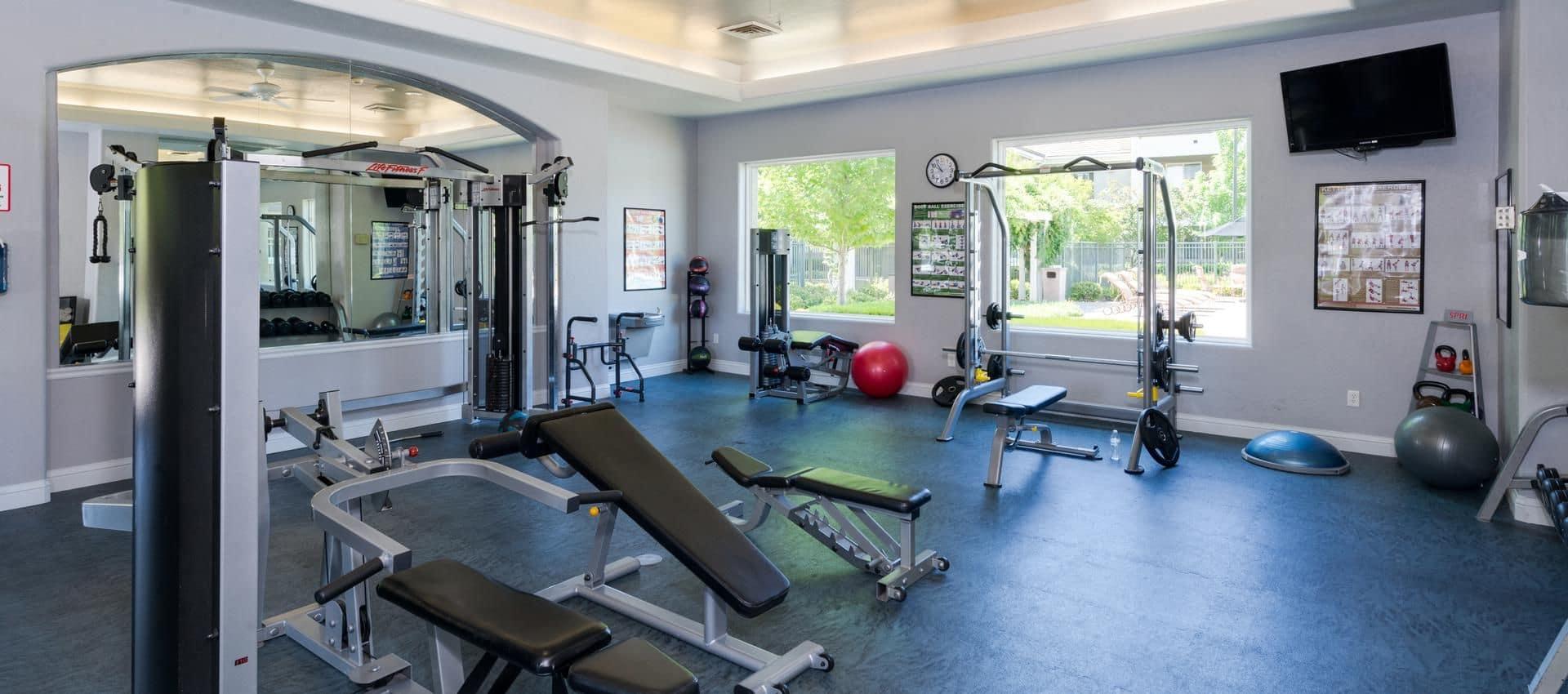 The Artisan Apartment Homes's Exercise Facility in Sacramento, CA