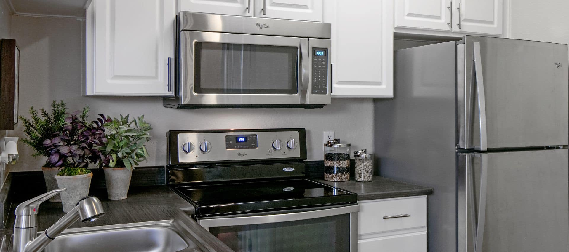 The Artisan Apartment Homes's Kitchen at in Sacramento, CA
