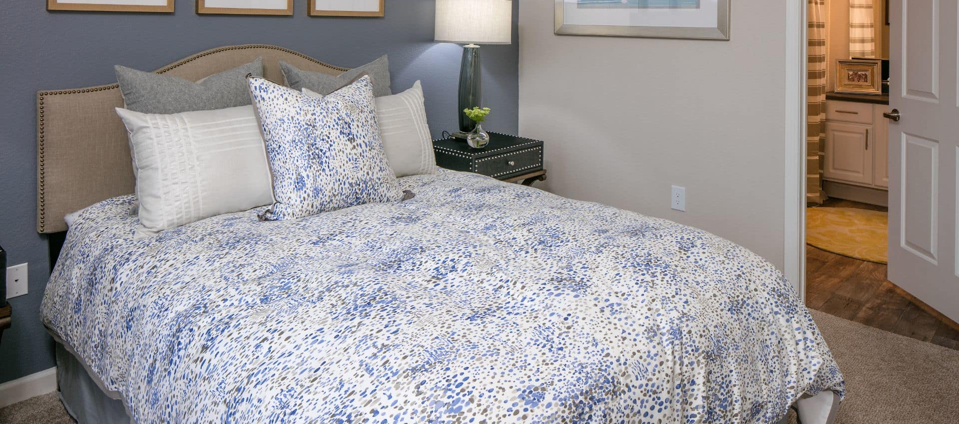 The Artisan Apartment Homes's Well Decorated Bedroom in Sacramento, CA