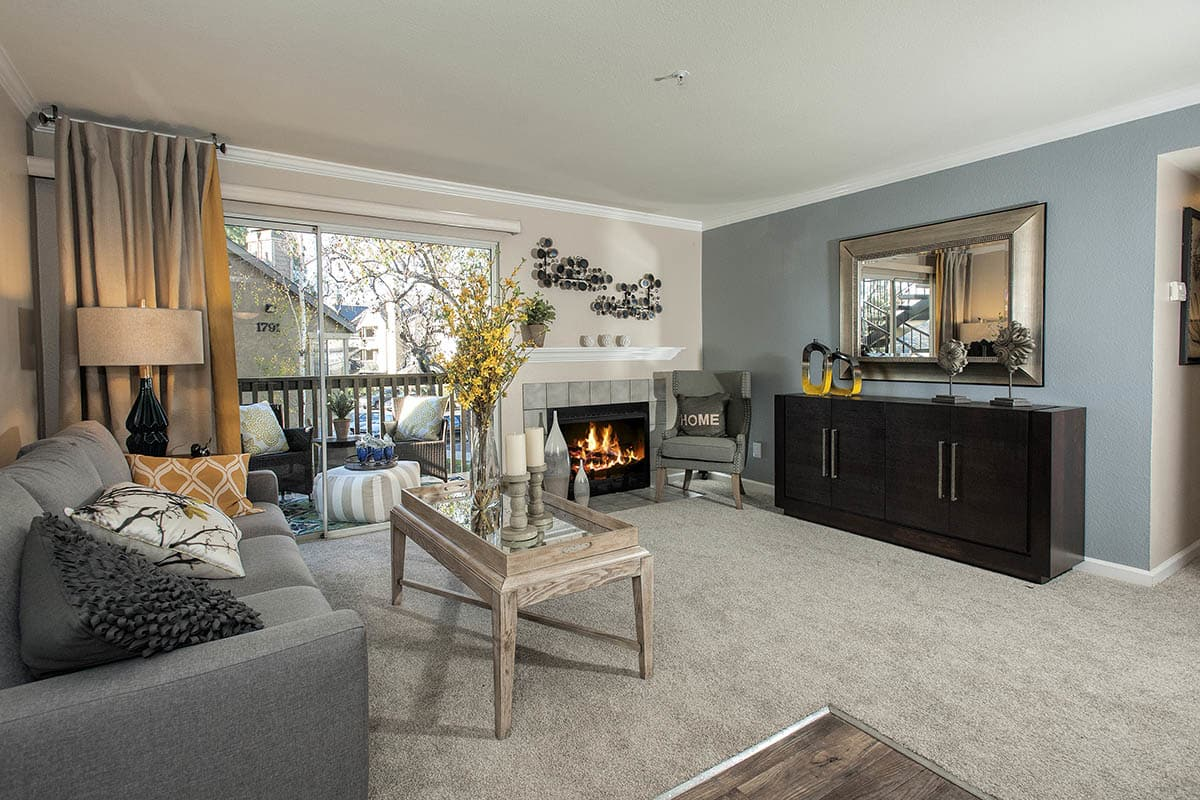 Spacious Living Space at The Artisan Apartment Homes
