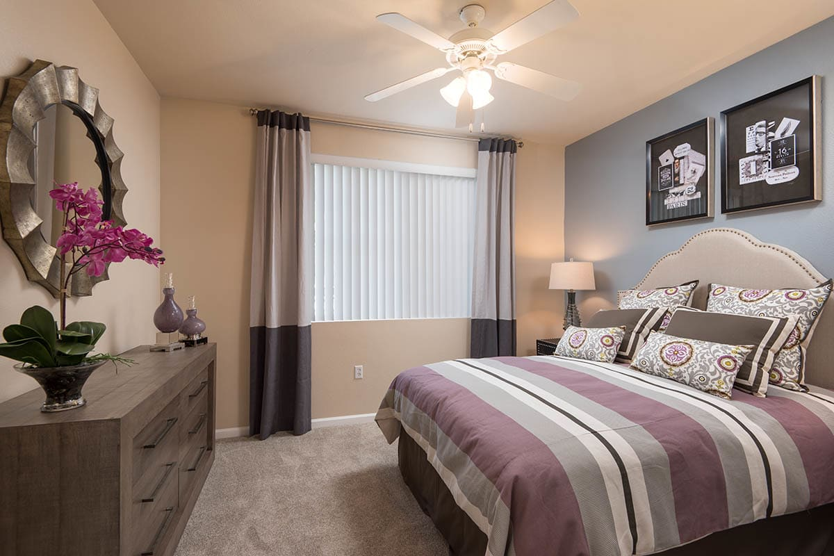 Bedroom With Large Closet at The Artisan Apartment Homes