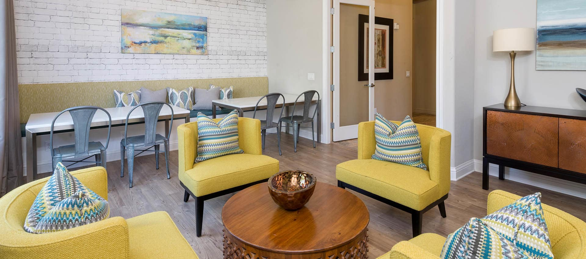 Resident Lounge at The Artisan Apartment Homes