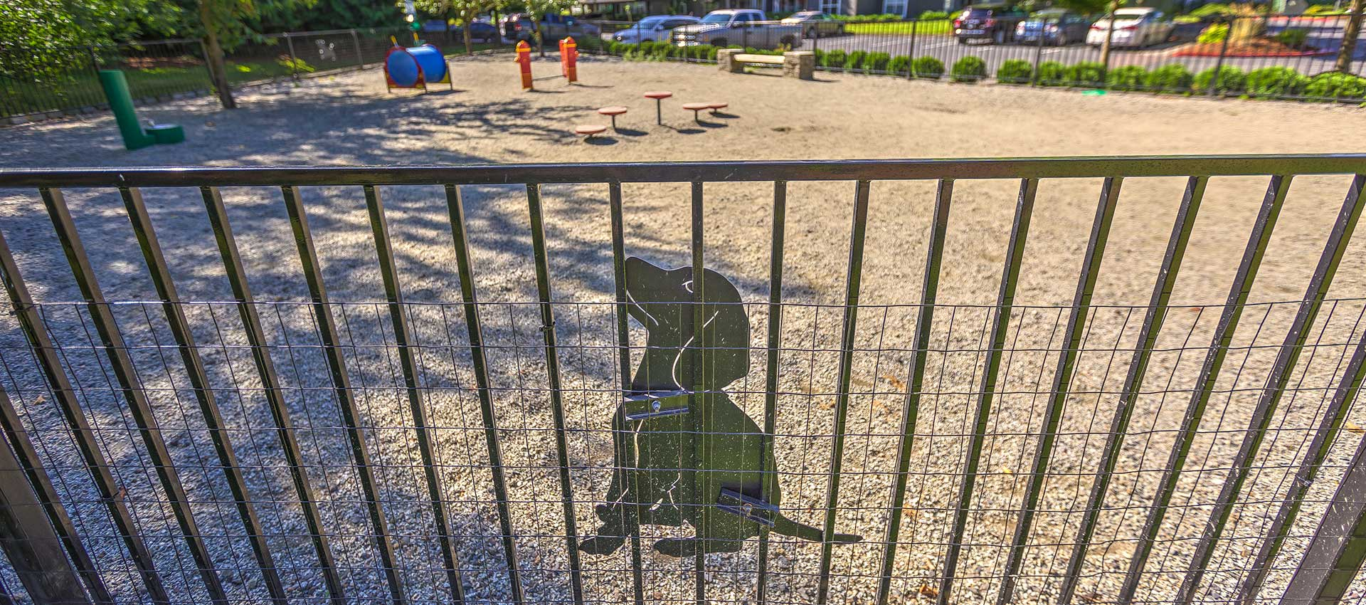 Dog park at Centro Apartment Homes
