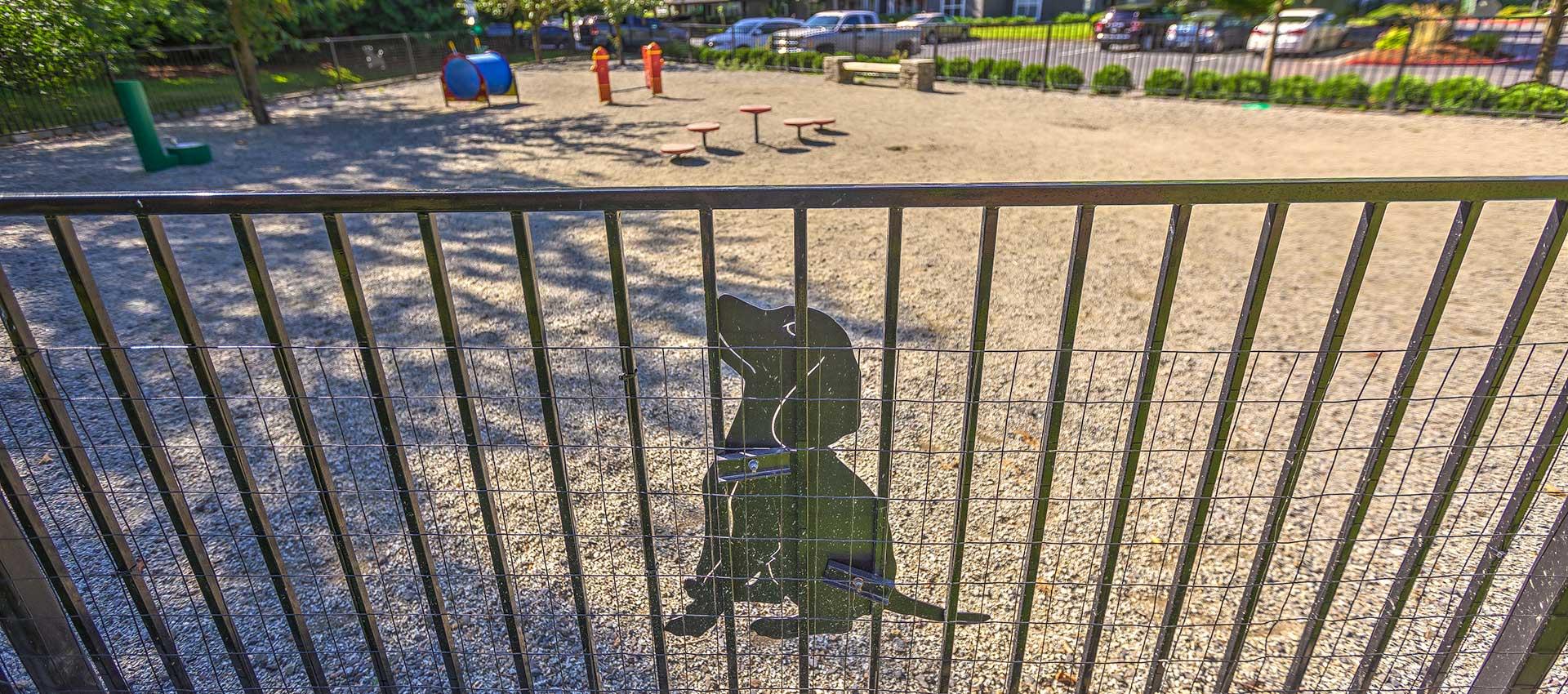 Dog park at Centro Apartment Homes in Hillsboro, Oregon