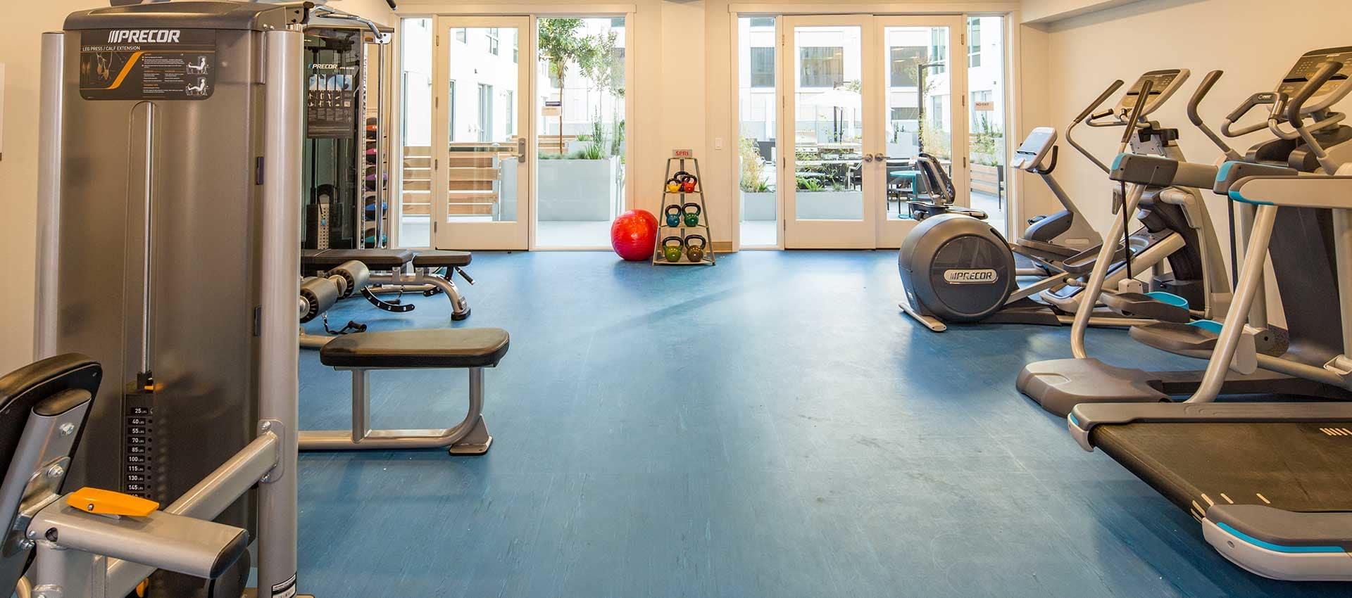 EVIVA Midtown fitness center in Sacramento, California