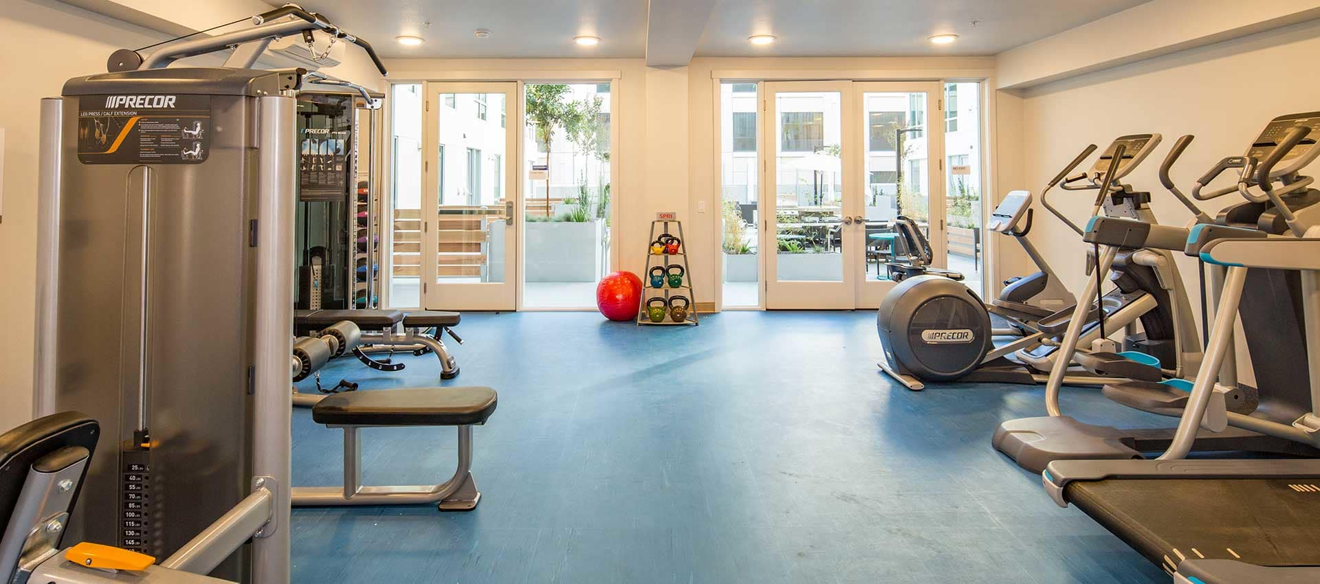 Gym at EVIVA Midtown