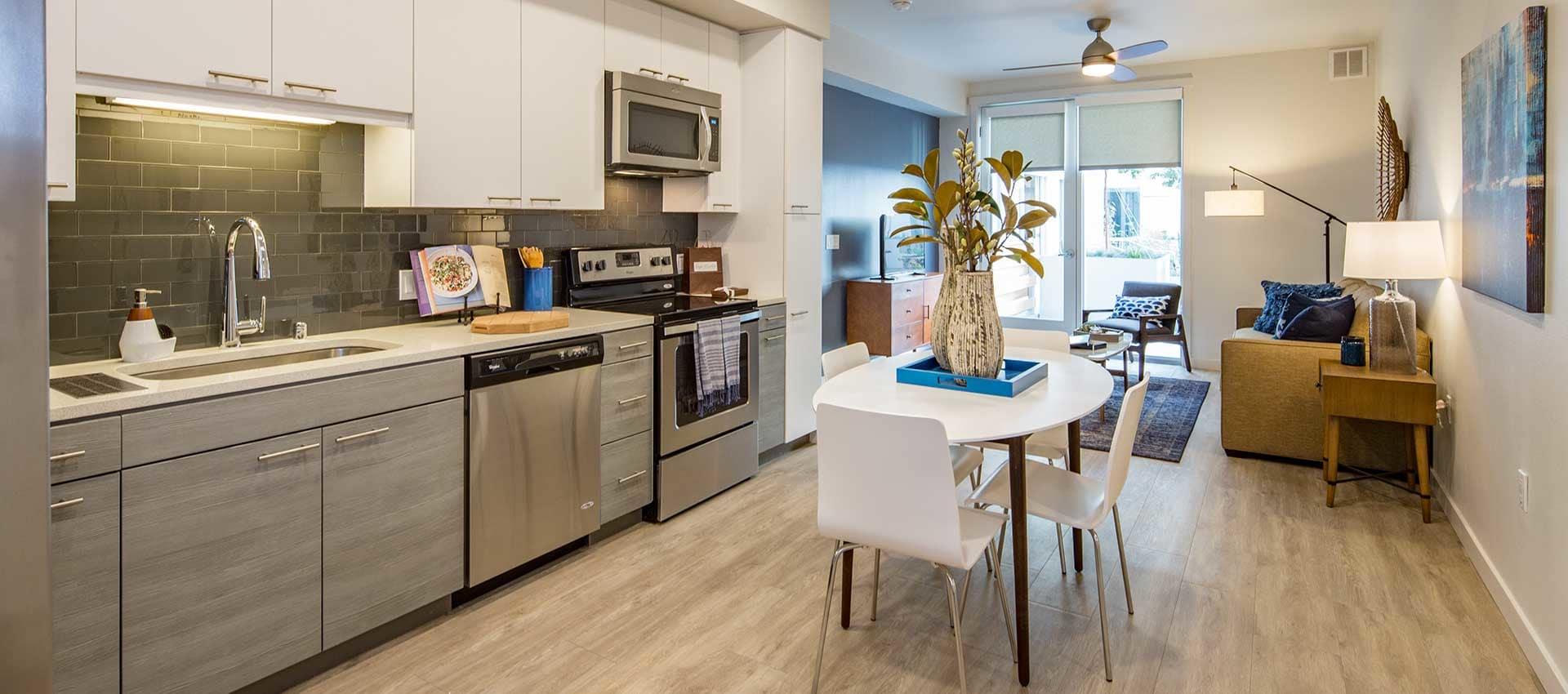 EVIVA Midtown offers open floor plans