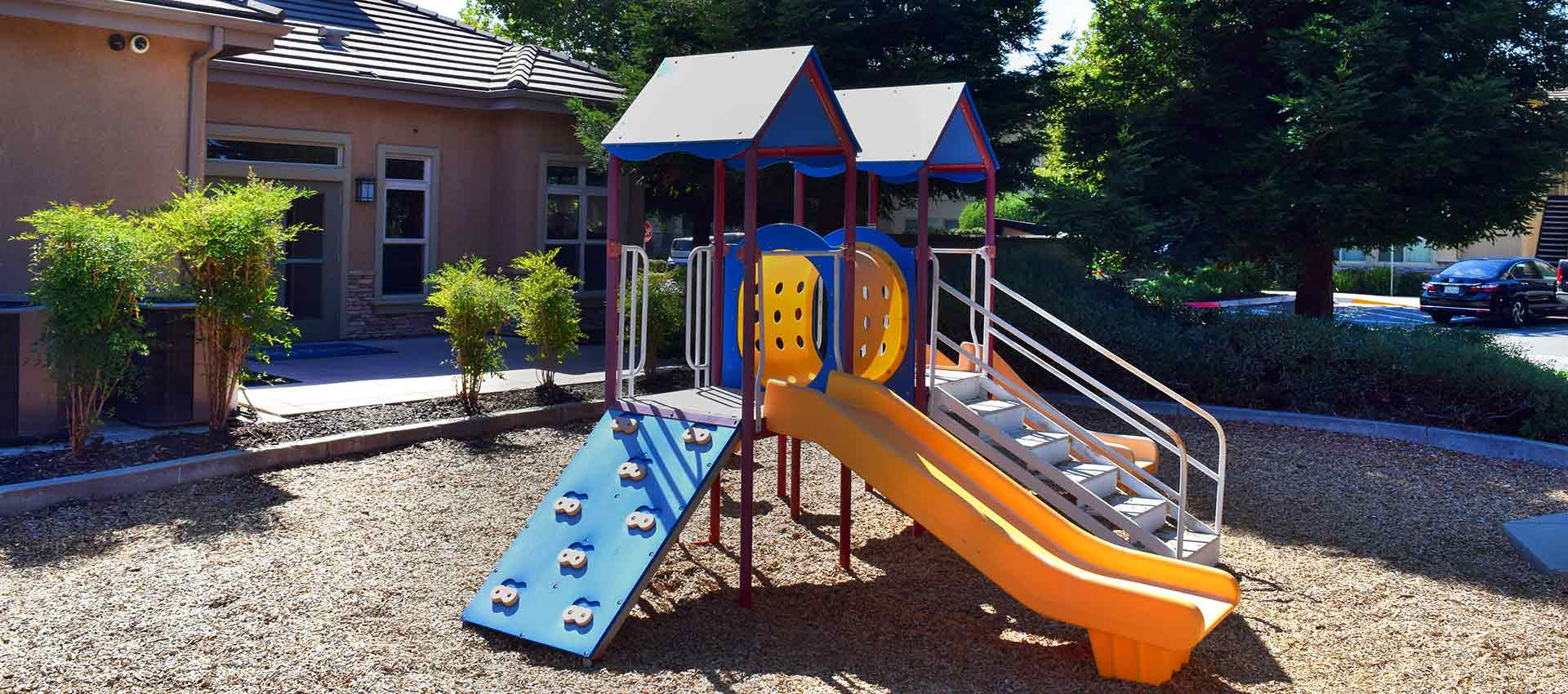 Wolf Ranch Condominium Rentals playground in Sacramento