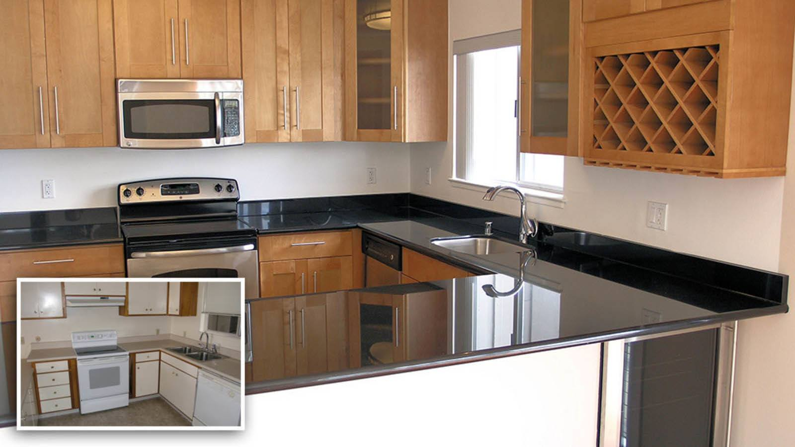 Kitchen Before And After | Sequoia Property Services