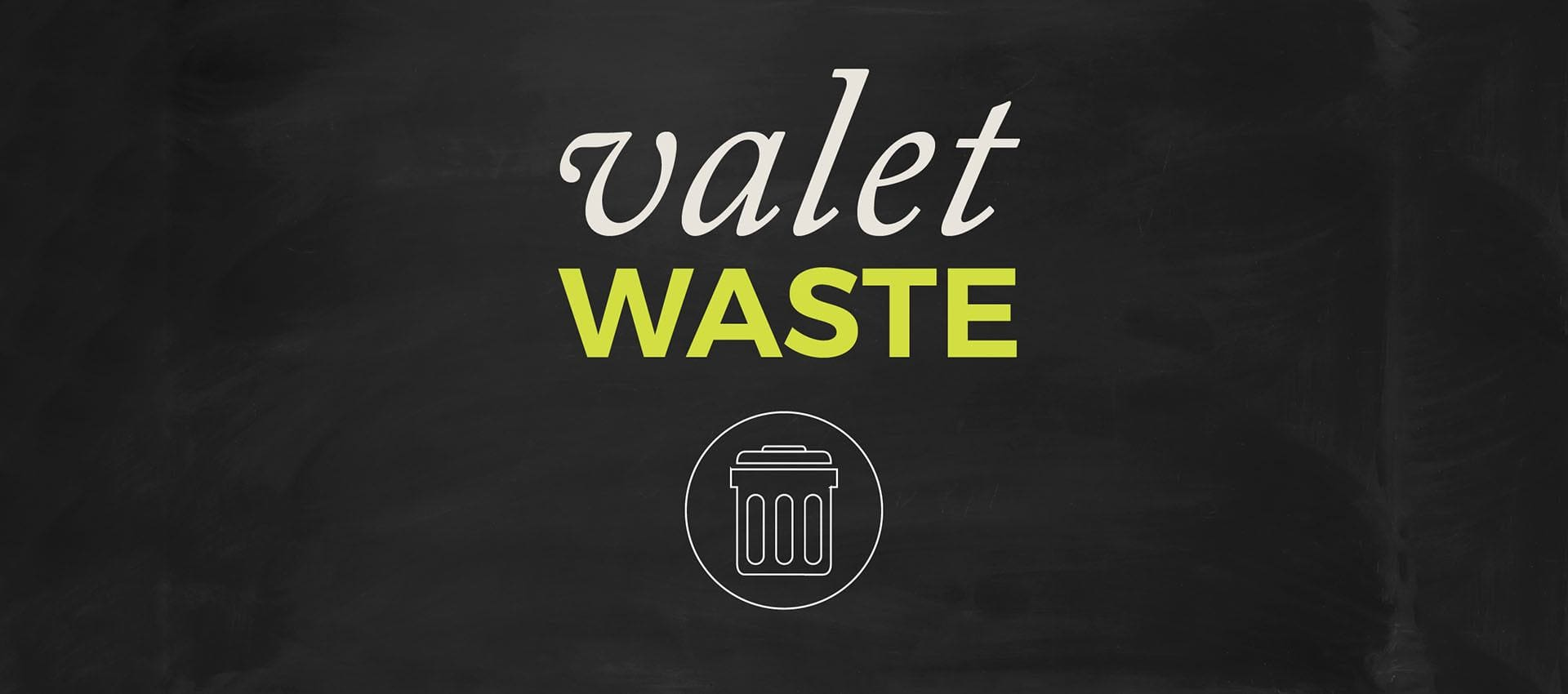 Don't waste time with garbage. Let us handle it at Deer Valley Apartment Homes in Roseville