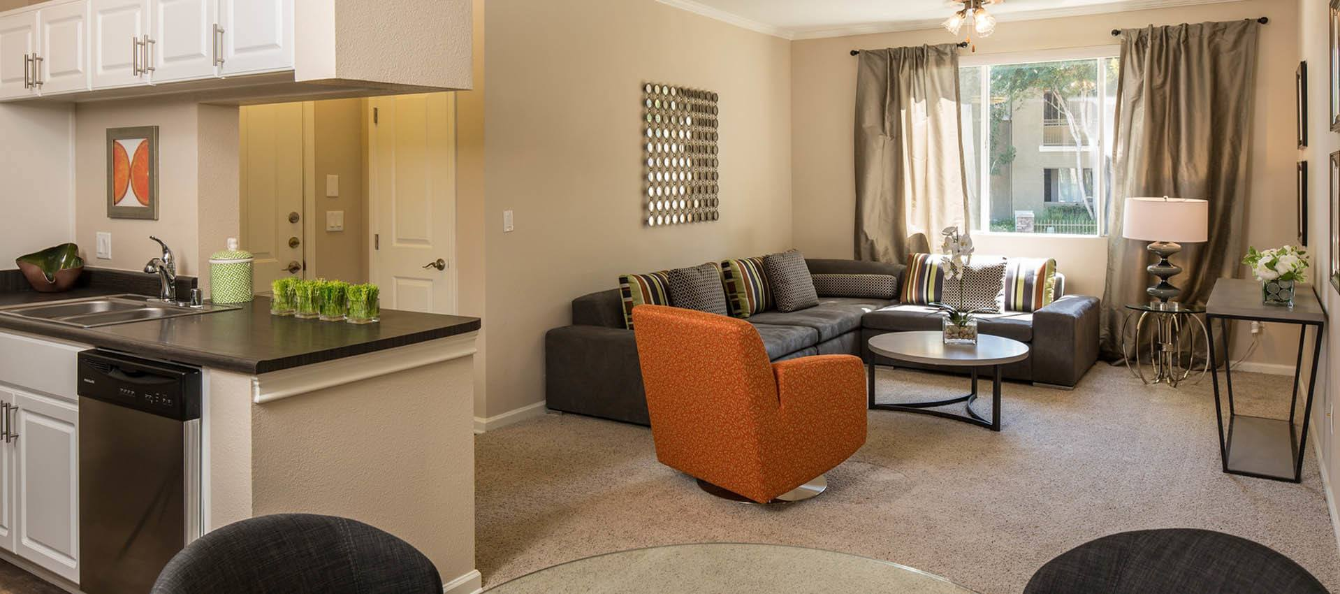 Feel at home in your new apartment at Alicante Apartment Homes in Aliso Viejo, CA