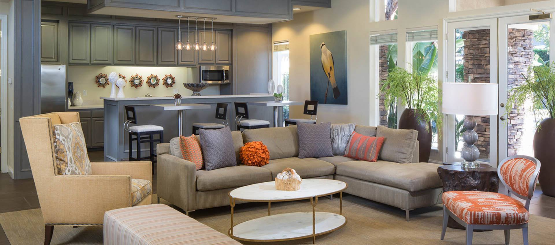 Your new living room at Alicante Apartment Homes