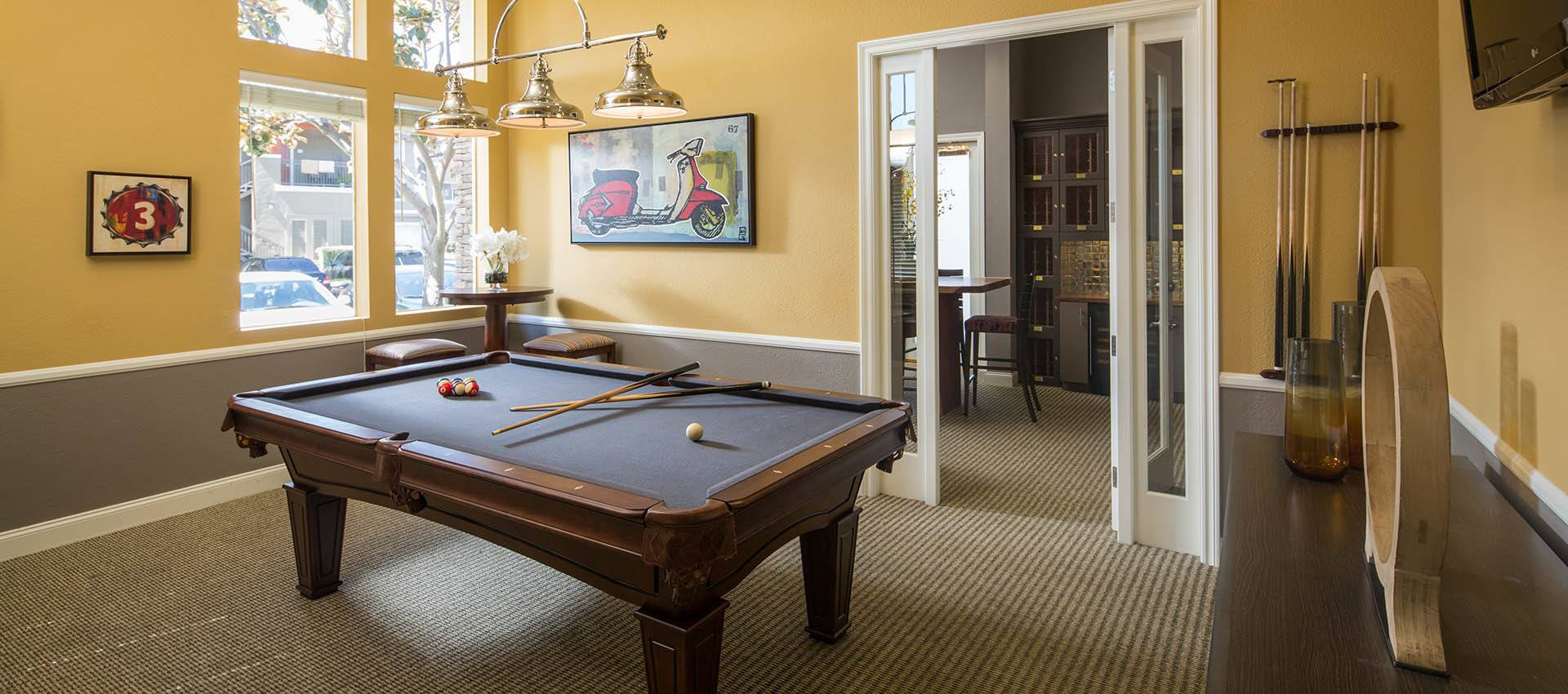 Billiards Amenities Gallery