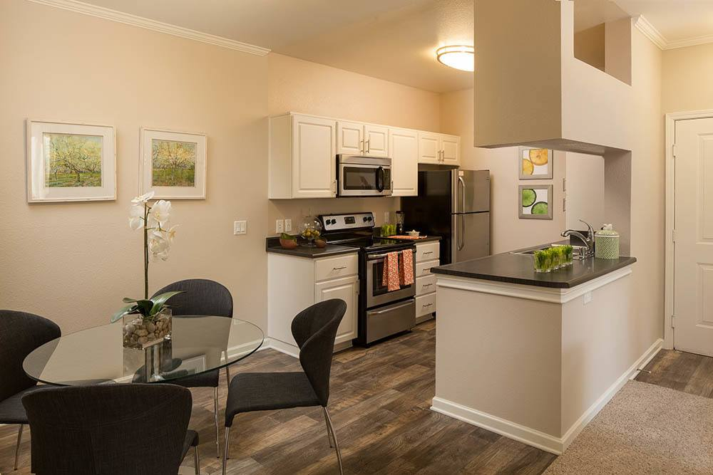 Spacious kitchens at Alicante Apartment Homes in Aliso Viejo, CA