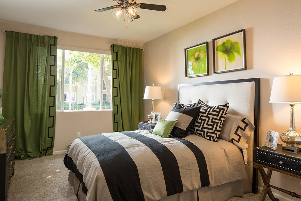 Beautiful bedrooms at Alicante Apartment Homes in Aliso Viejo, CA
