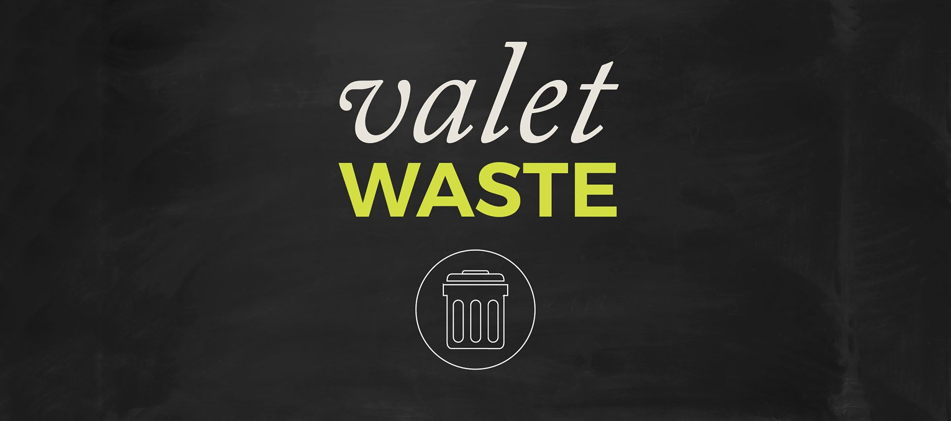 Don't waste time with garbage. Let us handle it at Alicante Apartment Homes in Aliso Viejo