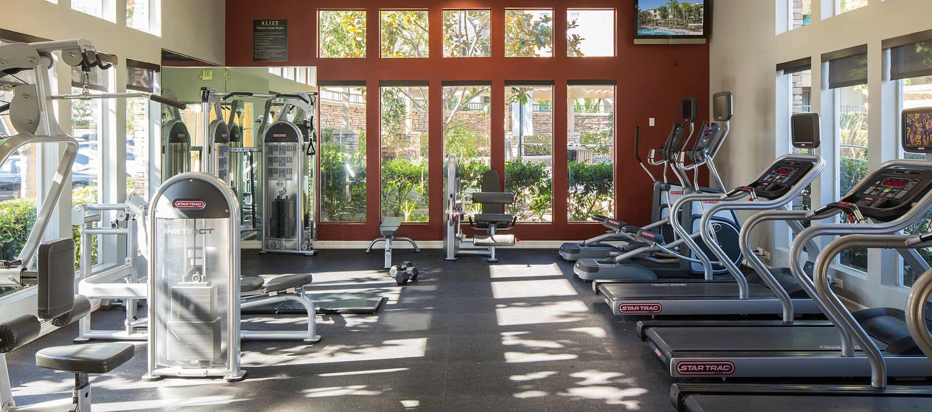 24 Hour Fitness Center in Alize at Aliso Viejo Apartment Homes in Aliso Viejo, California