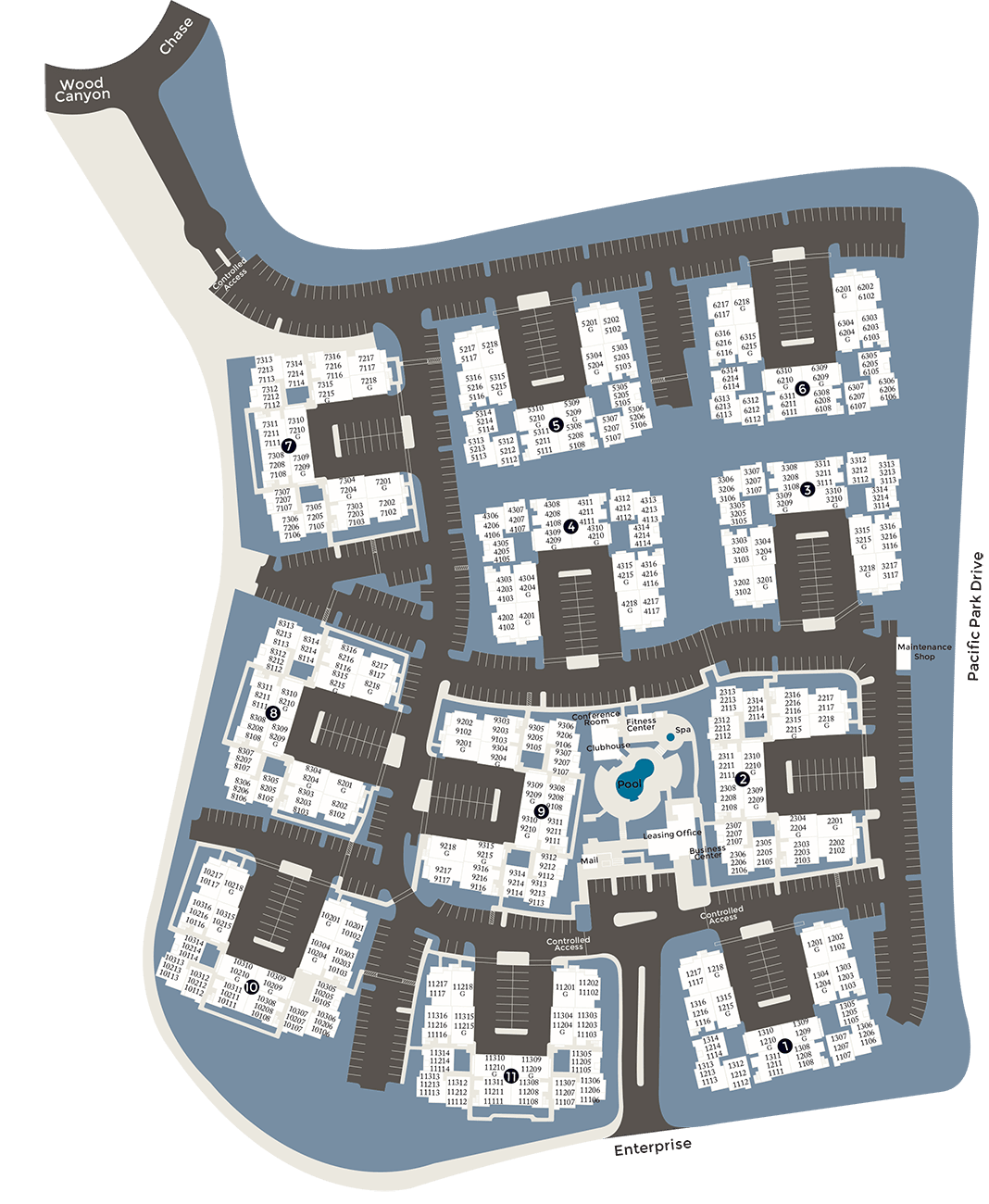 View a map of our property in Alize at Aliso Viejo Apartment Homes in Aliso Viejo, California