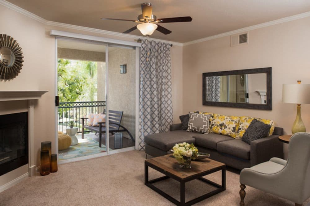 Living Room at Alize at Aliso Viejo Apartment Homes