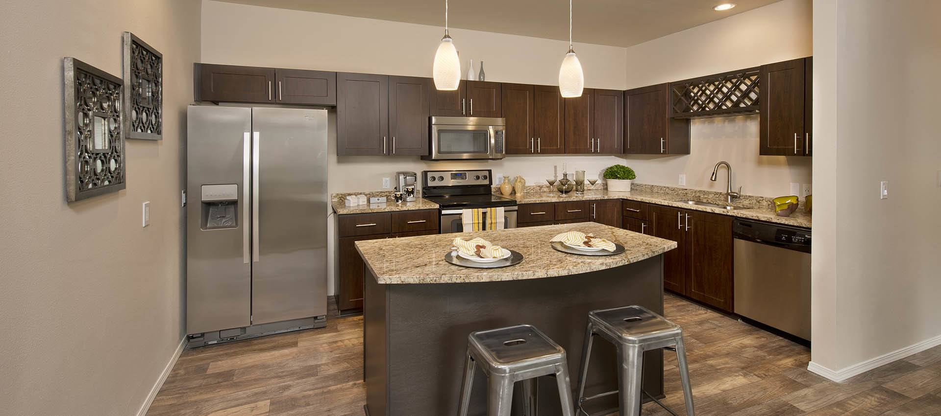 Luxury Kitchen With Stainless Appliances at Altamont Summit in Happy Valley, OR