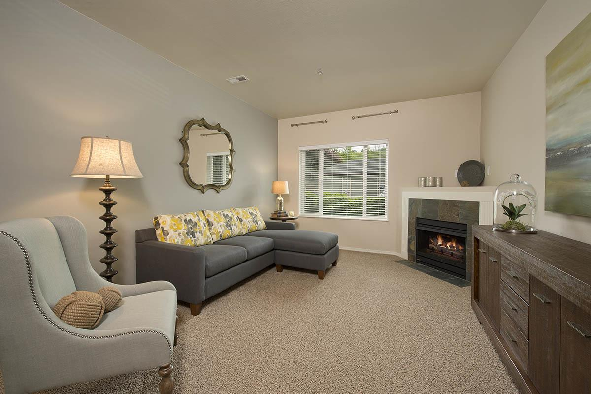Spacious Living Room at Altamont Summit in Happy Valley