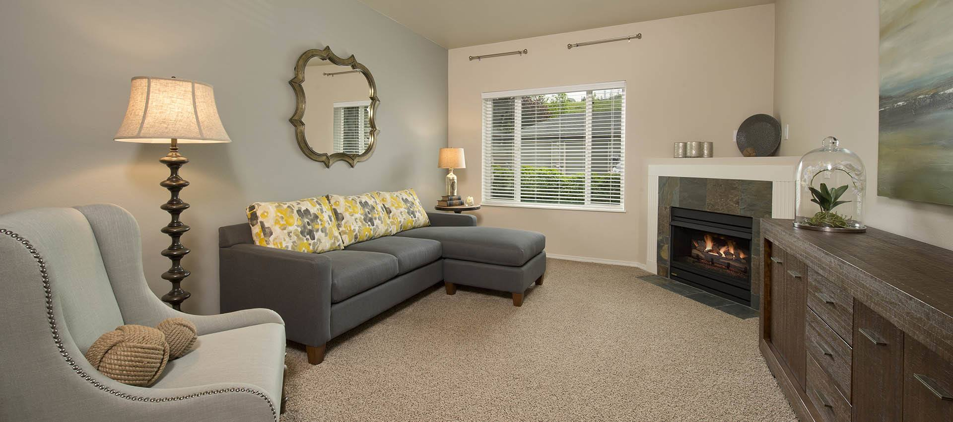 Spacious Living Room at Altamont Summit in Happy Valley, OR