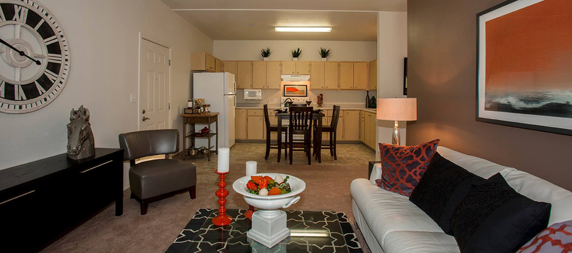 View Towards Kitchen In Standard Residence at Altamont Summit in Happy Valley, OR