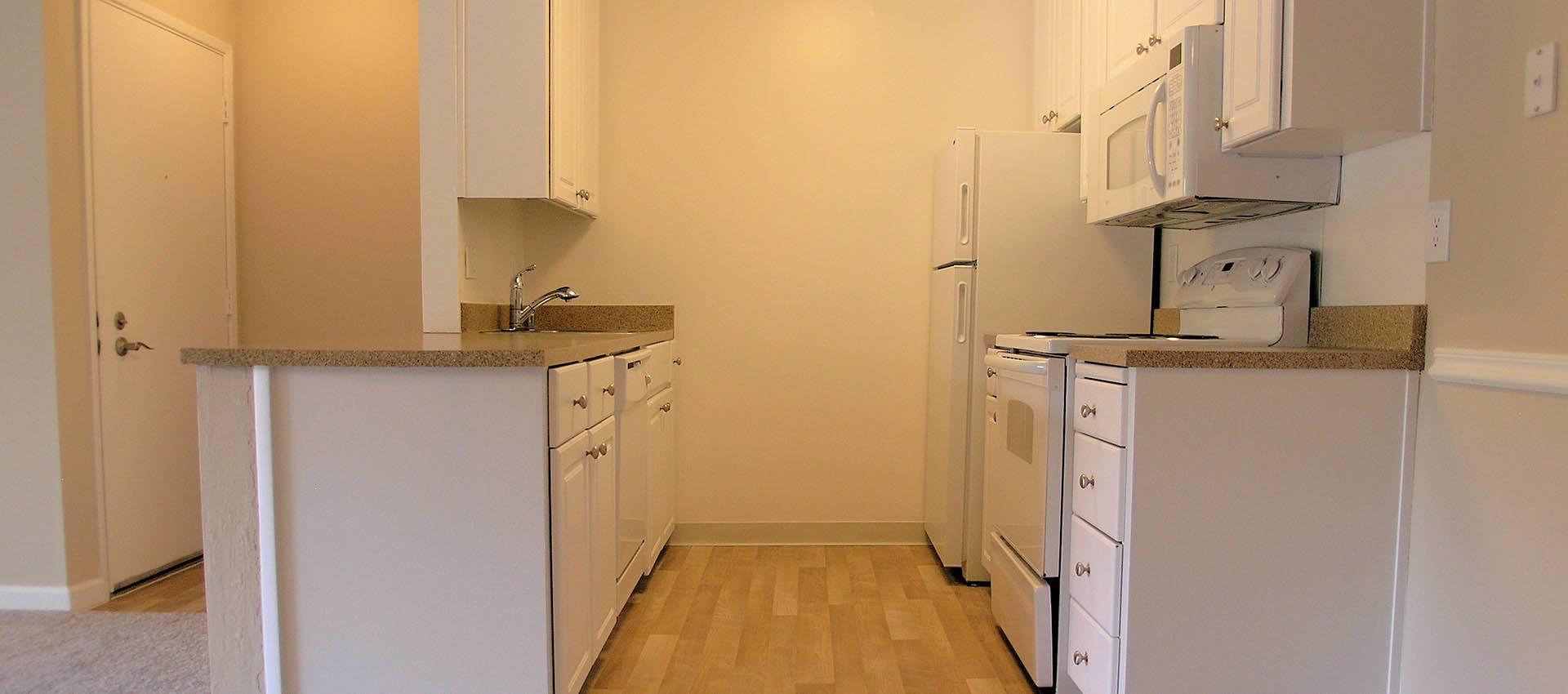 Hardwood floors at Ballena Village Apartment Homes in Alameda, CA