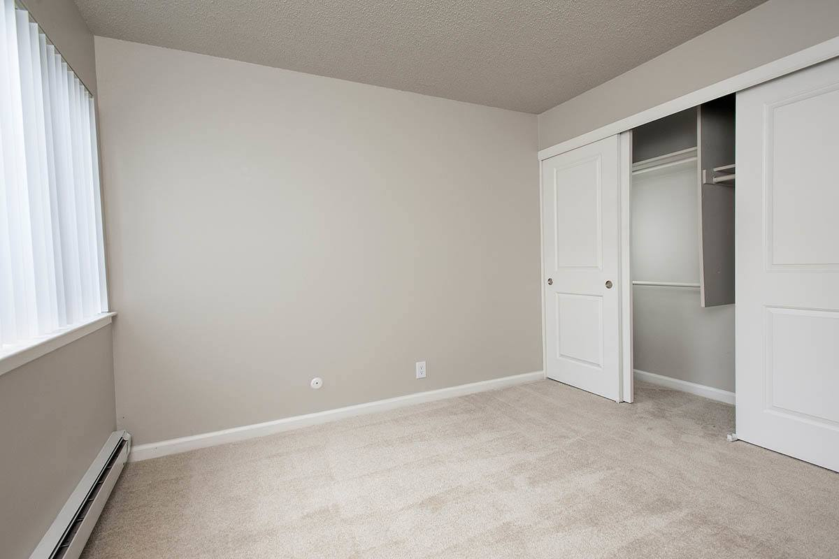 Bedroom layout at Ballena Village Apartment Homes in Alameda, CA