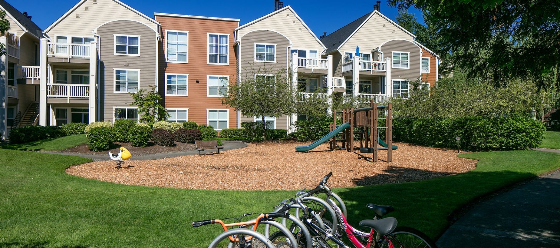 Playground at Center Pointe Apartment Homes in Beaverton