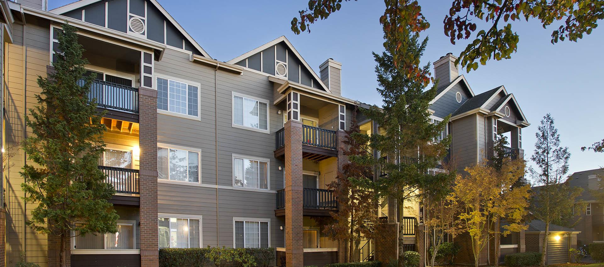 Exterior at Cortland Village Apartment Homes in Hillsboro, OR