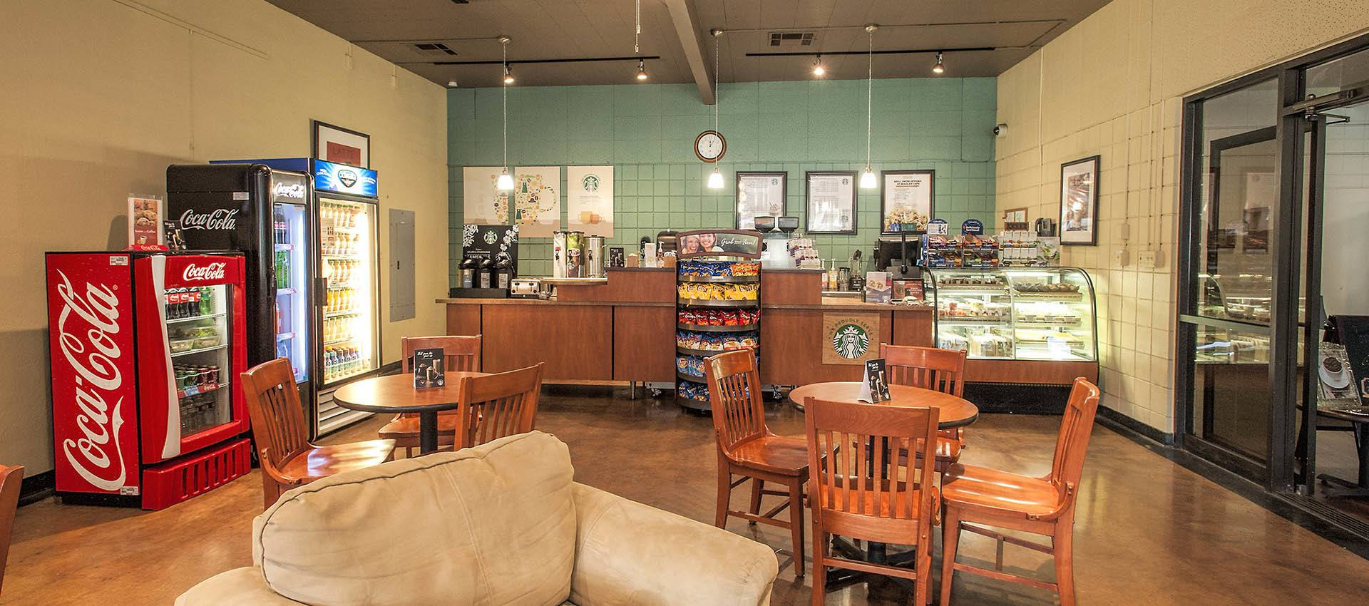 Enjoy the coffee bistro at Craig Student Living