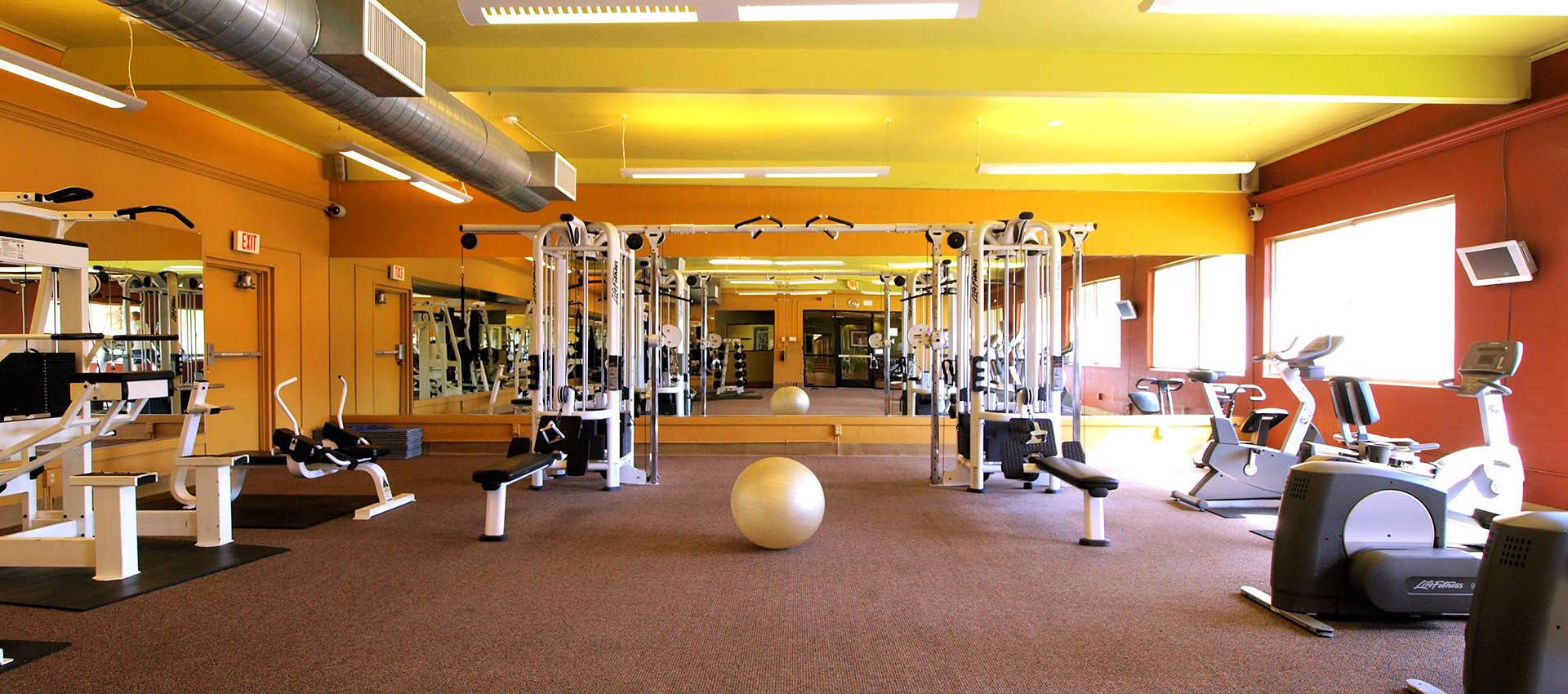 Enjoy the fitness center at Craig Student Living