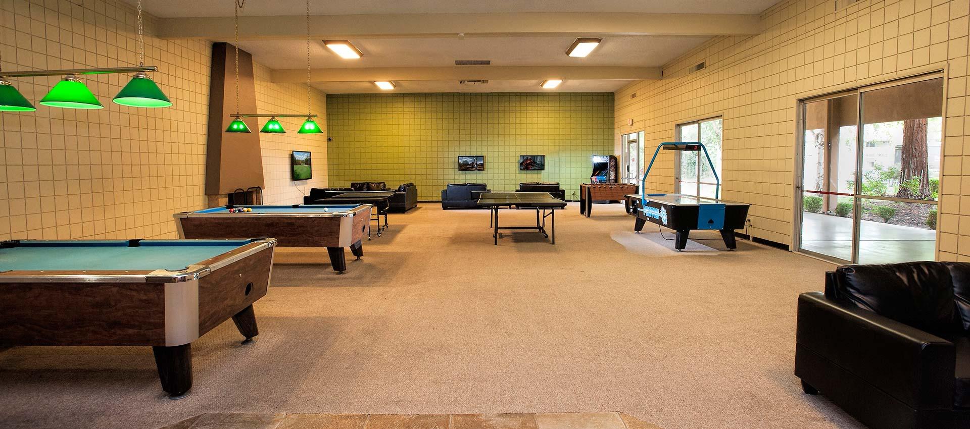Gaming Room at Craig Student Living