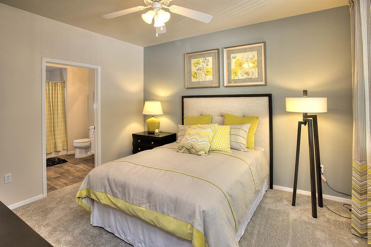 Master Bedroom at Cross Pointe Apartment Homes in Antioch