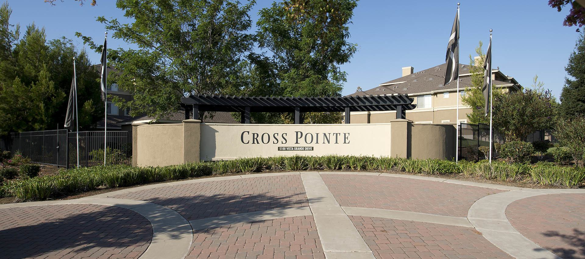 Signage at Cross Pointe Apartment Homes in Antioch