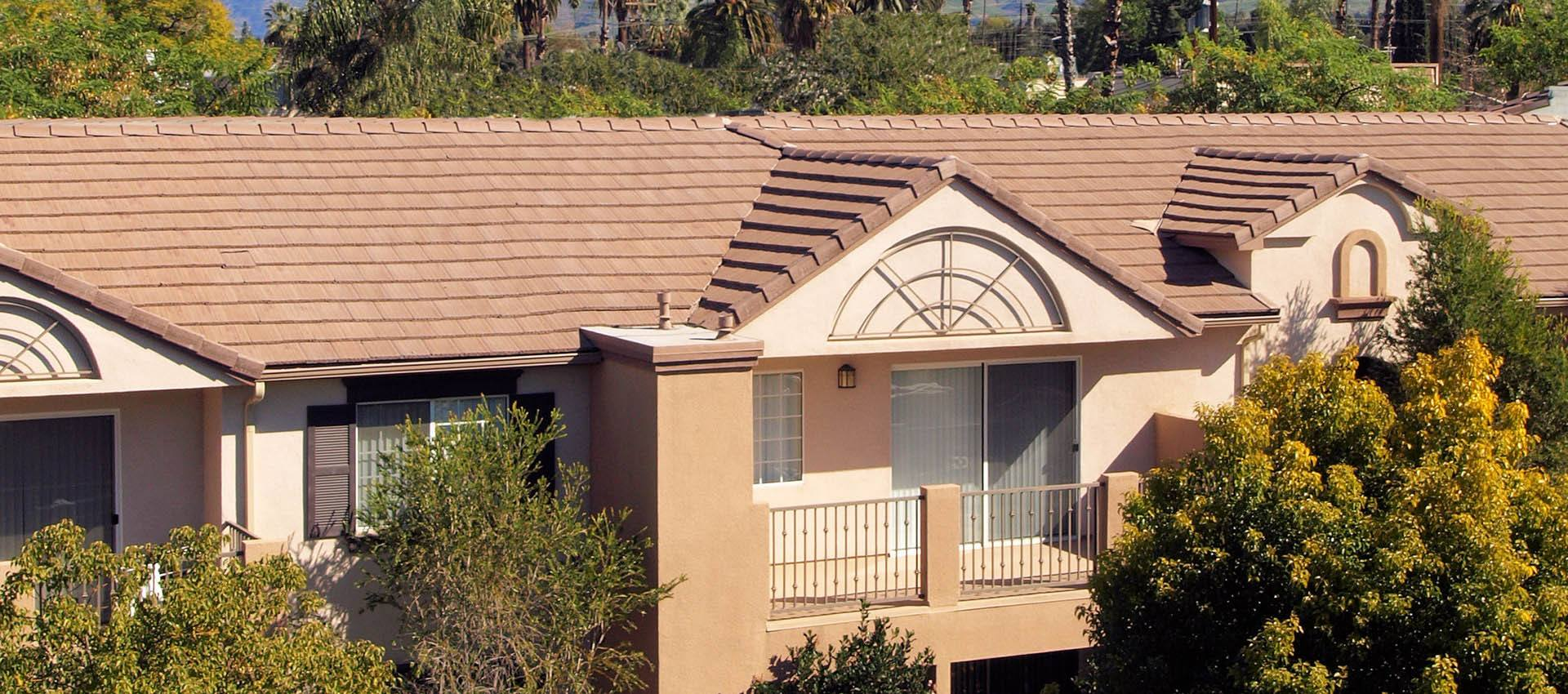 Building Roofline at Cypress Villas Apartment Homes in Redlands, CA