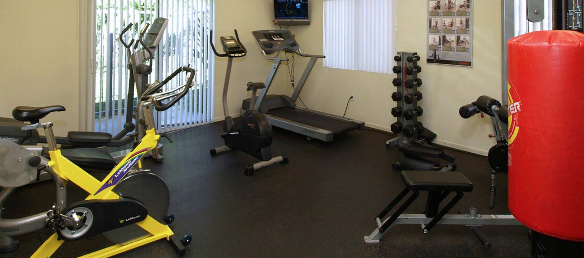 Fitness Equipment at Cypress Villas Apartment Homes in Redlands, CA