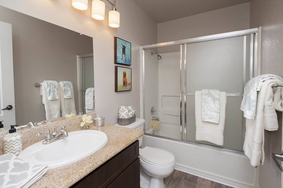 Bathroom at Deer Valley Apartment Homes