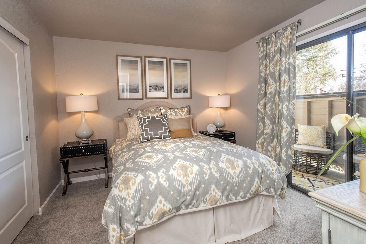 Master Bedroom at Deer Valley Apartment Homes