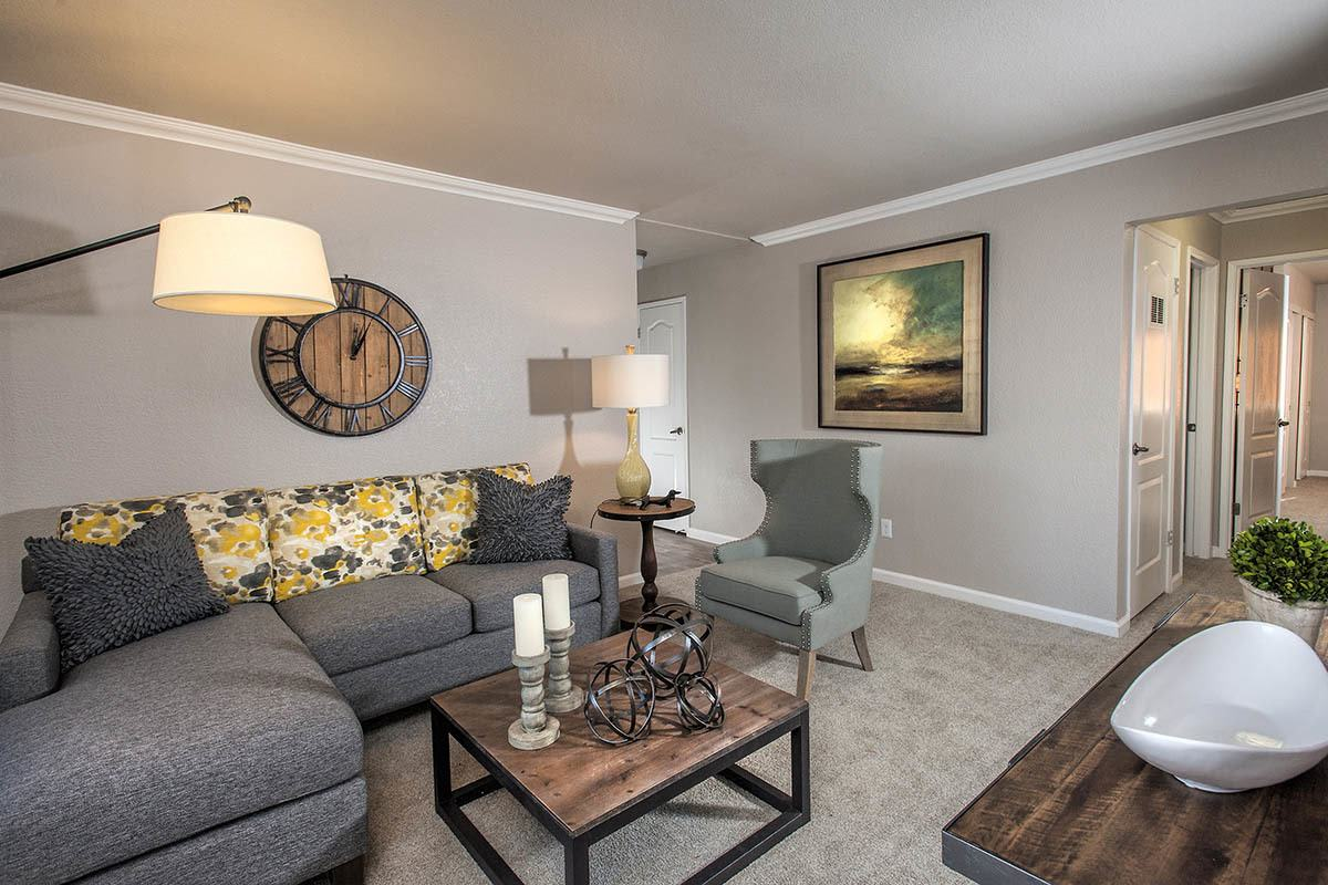 Spacious Living Room at Deer Valley Apartment Homes
