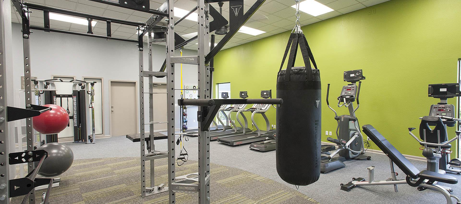 Well Equipped Fitness Center at Deer Valley Apartment Homes in Roseville, California