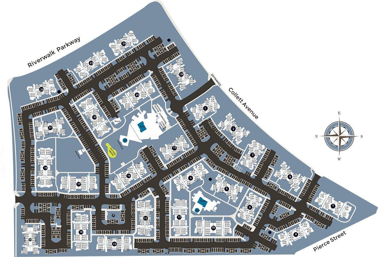 View a map of Esplanade Apartment Homes in Riverside, California