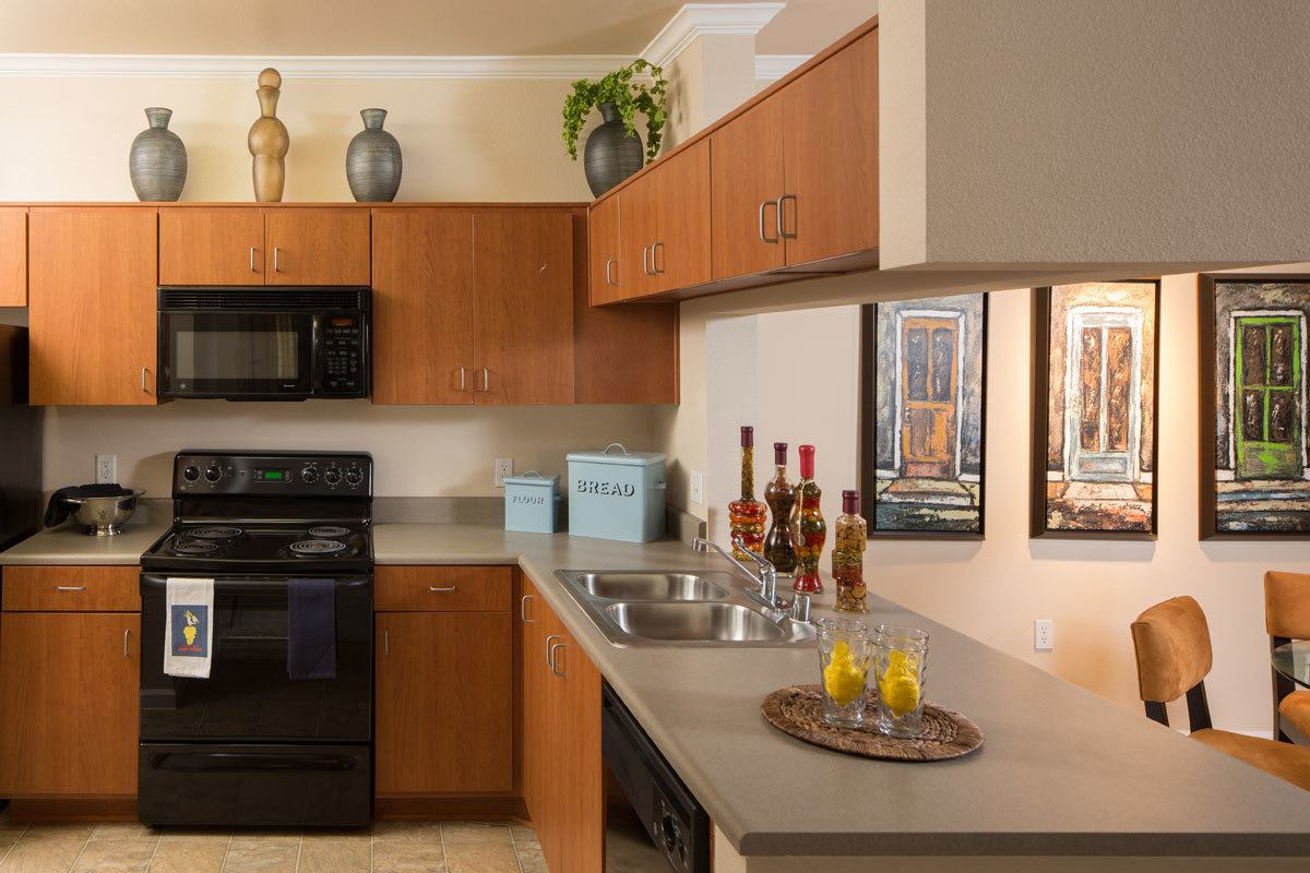 Stylish Kitchen at Esplanade Apartment Homes