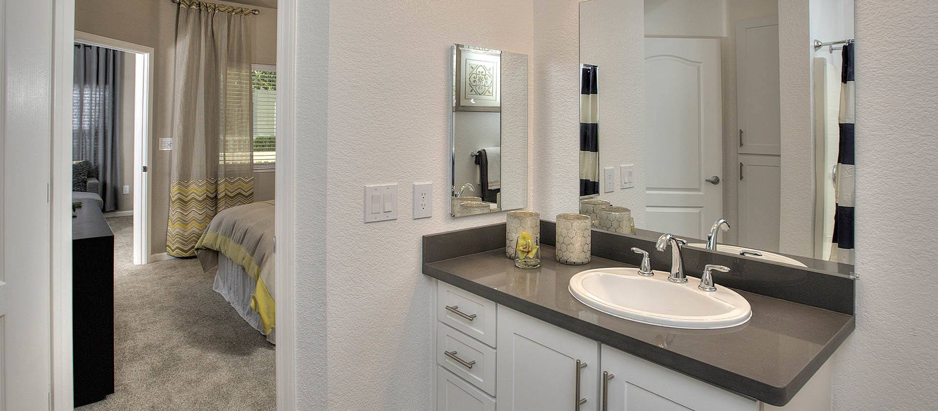 Bathroom In Master Bedroom at Iron Point at Prairie Oaks in Folsom, California
