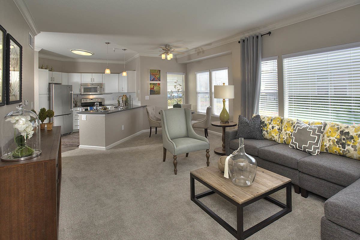 Spacious Living Space at Iron Point at Prairie Oaks