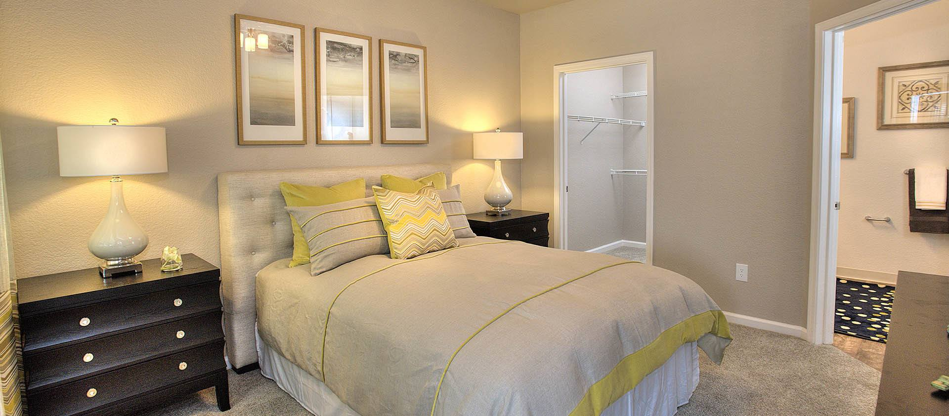 Spacious Master Bedroom at Iron Point at Prairie Oaks in Folsom, California