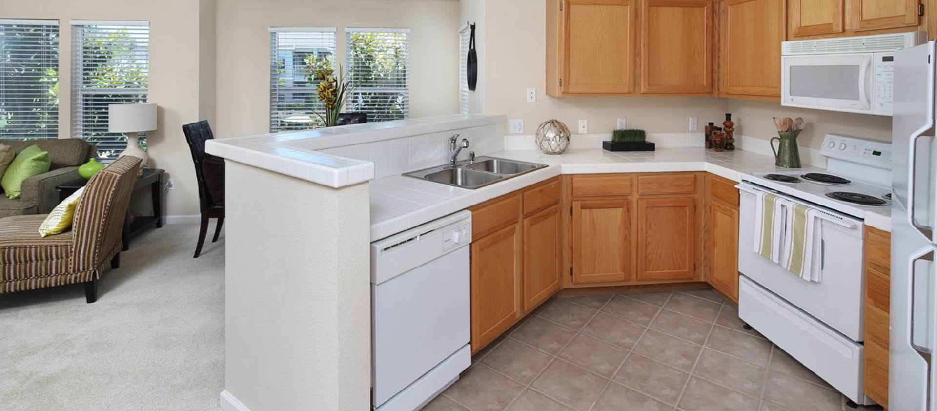 Standard Kitchen at Iron Point at Prairie Oaks in Folsom, California